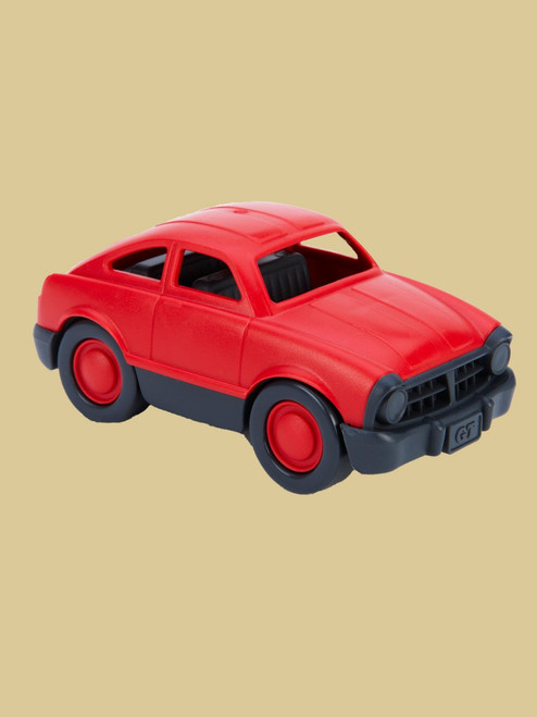 Mini Vehicle. Red Fastback - Recycled Materials