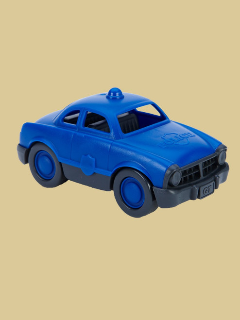 Mini Vehicle. Police - Recycled Materials