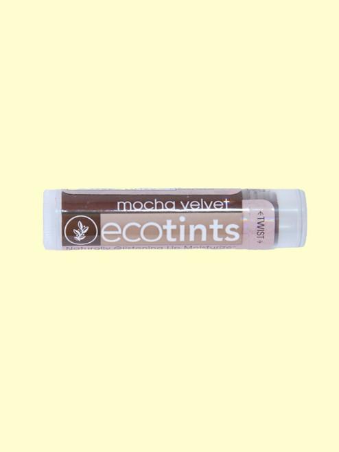Mocha Velvet Eco-Tints Lip Balm -Certified Organic Ingredients