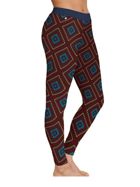 Women Legging Crochet Blanket - Organic Cotton