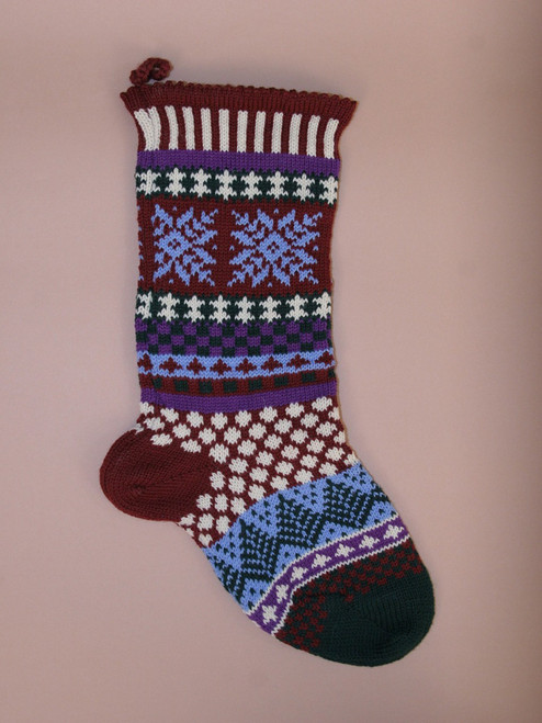 Winterberry Stockings  - Recycled Cotton
