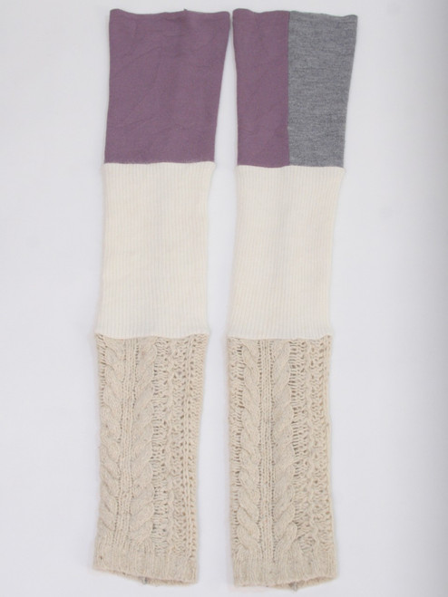 Gisselle Legwarmer  Sugar Plum - Recycled Material