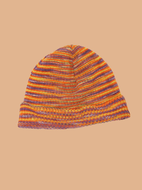 Rainbow Knit Hat - Hemp