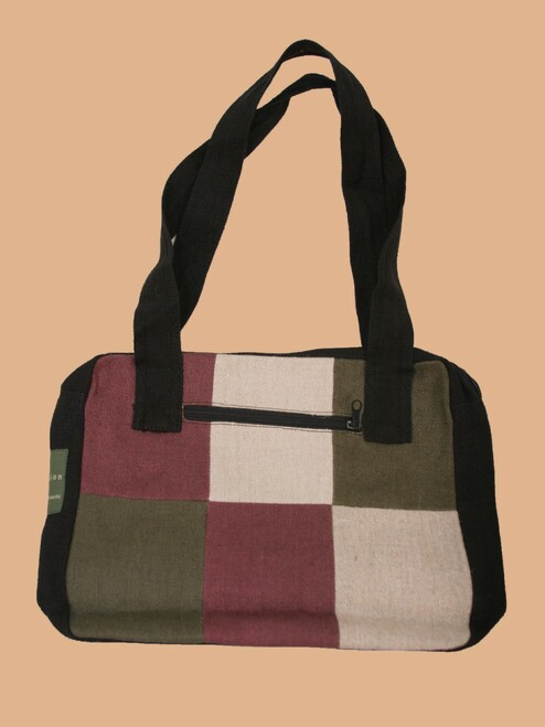 Cubic Handbag - Hemp