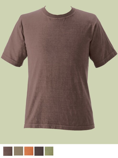 Men's Short Sleeve Organic Tee - Fair Trade