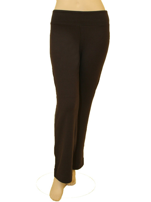 Women's  Plus Size Regular Flex Pant - Bamboo Rayon