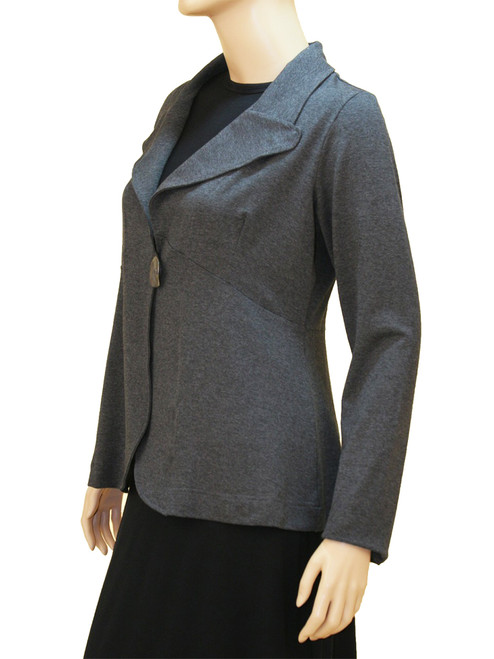 Women's Plus Size Steel Paradox Jacket - Bamboo Viscose Knit
