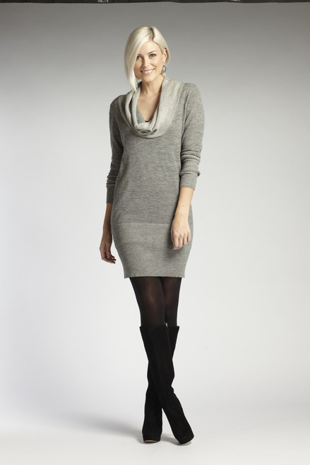 Reversible Cowl Dress. Free Range Alpaca - Fair Trade
