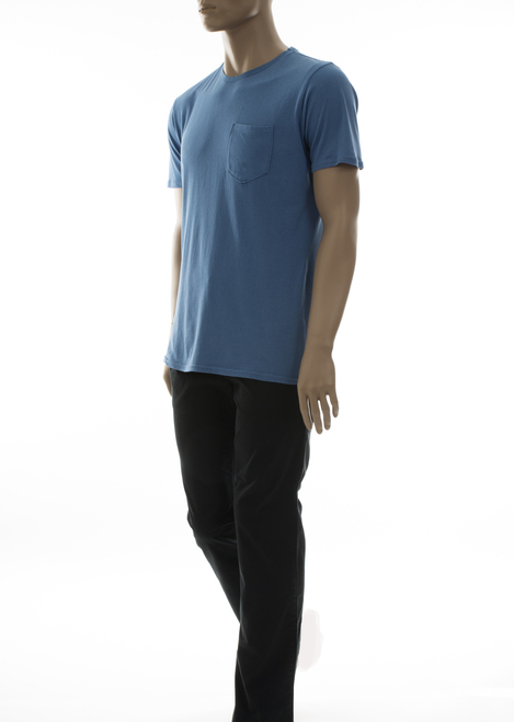 Men's Short Sleeves Pocket Crew Tee - Organic Cotton