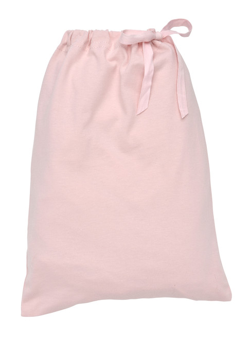 Blush  Fitted Crib Sheet In a Bag.  Organic Cotton - Fair Trade