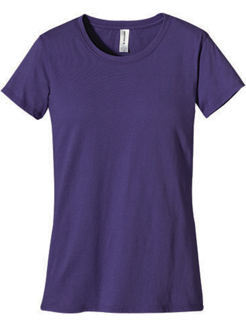 Women's Classic Short Sleeve T-Shirt - Organic Cotton - Iris