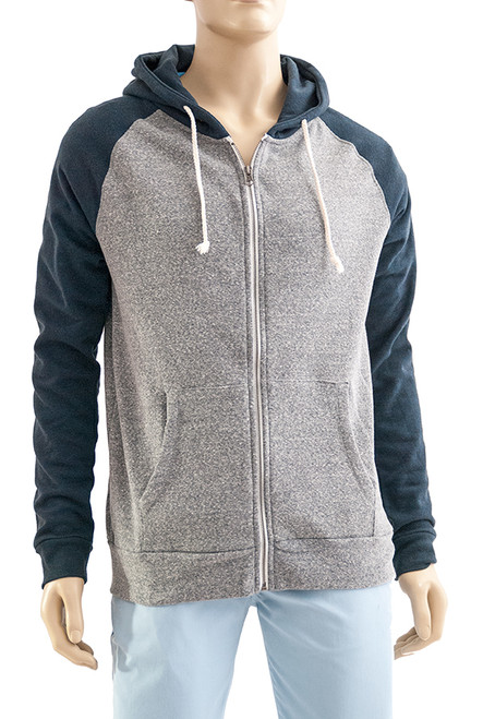 Men's Zip Front Hoody - Sustainable and Organic Cotton