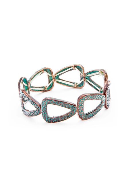 West Fork Bracelet . Upcycled Metals