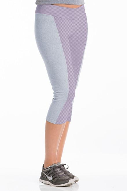 Mimosa Capri Pants - Recycled Material Fabric