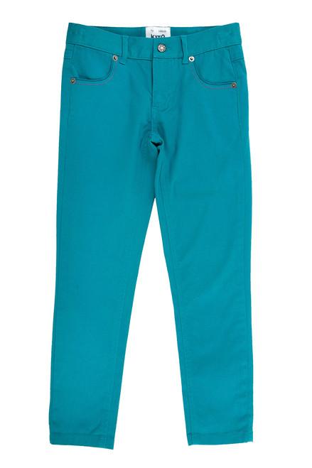 Girl's Organic Cotton Slim Fit Jean