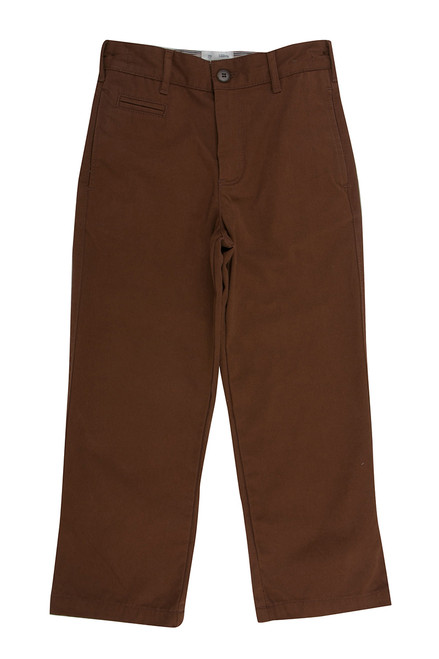 Boy's Organic Cotton Chino Pants