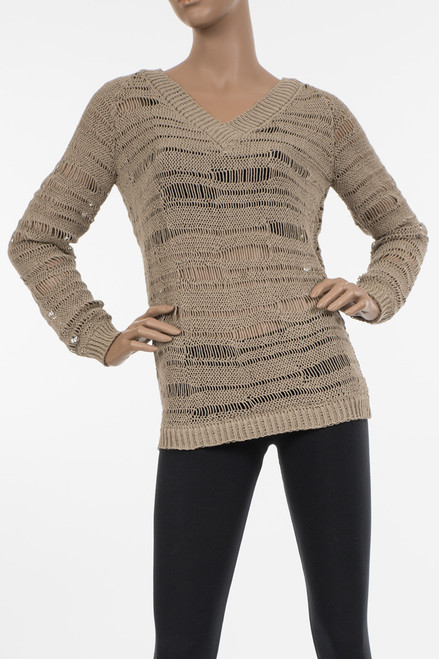 Okello Open Knit Sweater - Organic Cotton