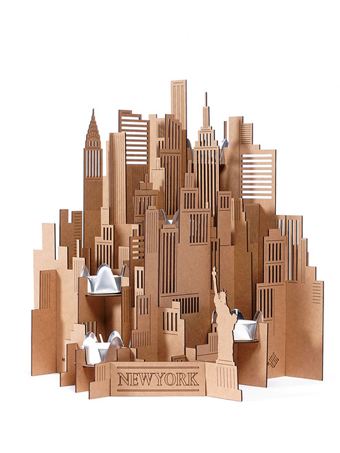 City Lights New York - Eco Craft Paper