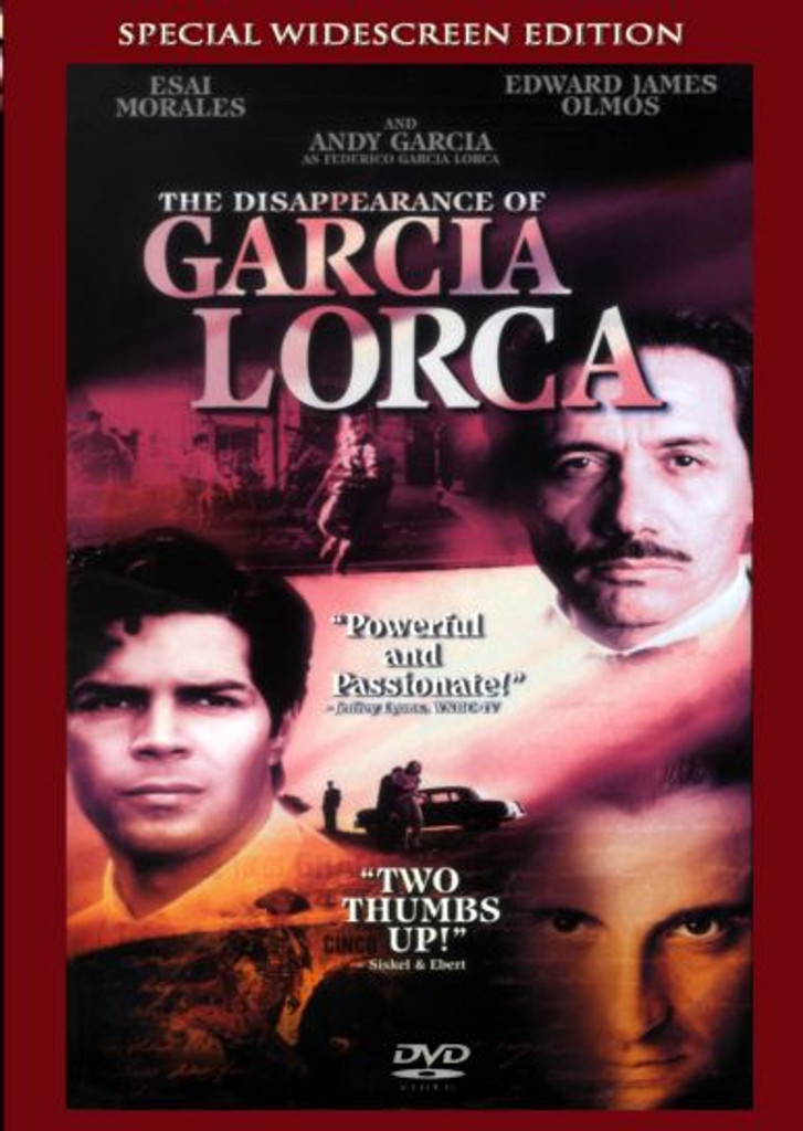 The Disappearance of Garcia Lorca Playable All-Regions Dvd