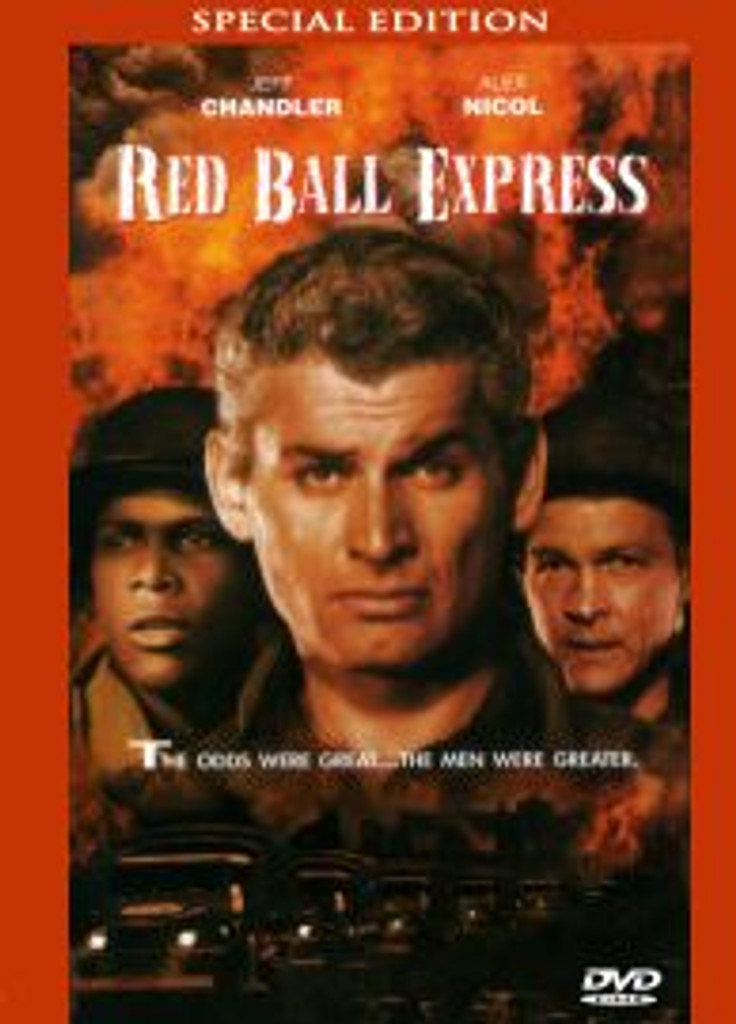 Red Ball Express Jeff Chandler, Sidney Poiter