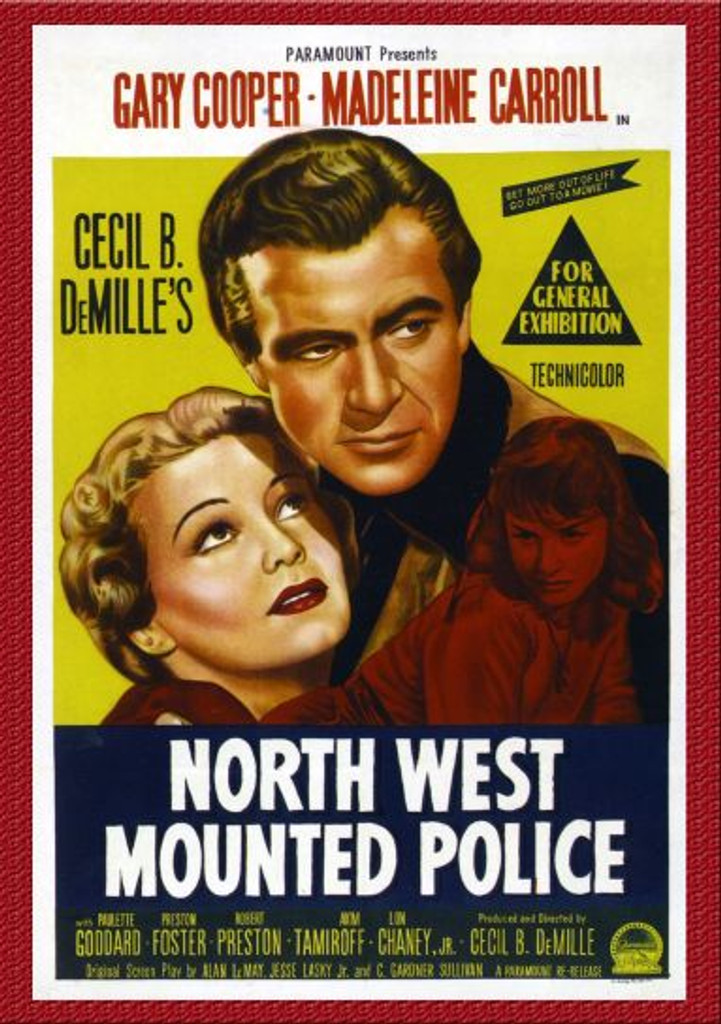 North West Mounted Police Remastered Dvd