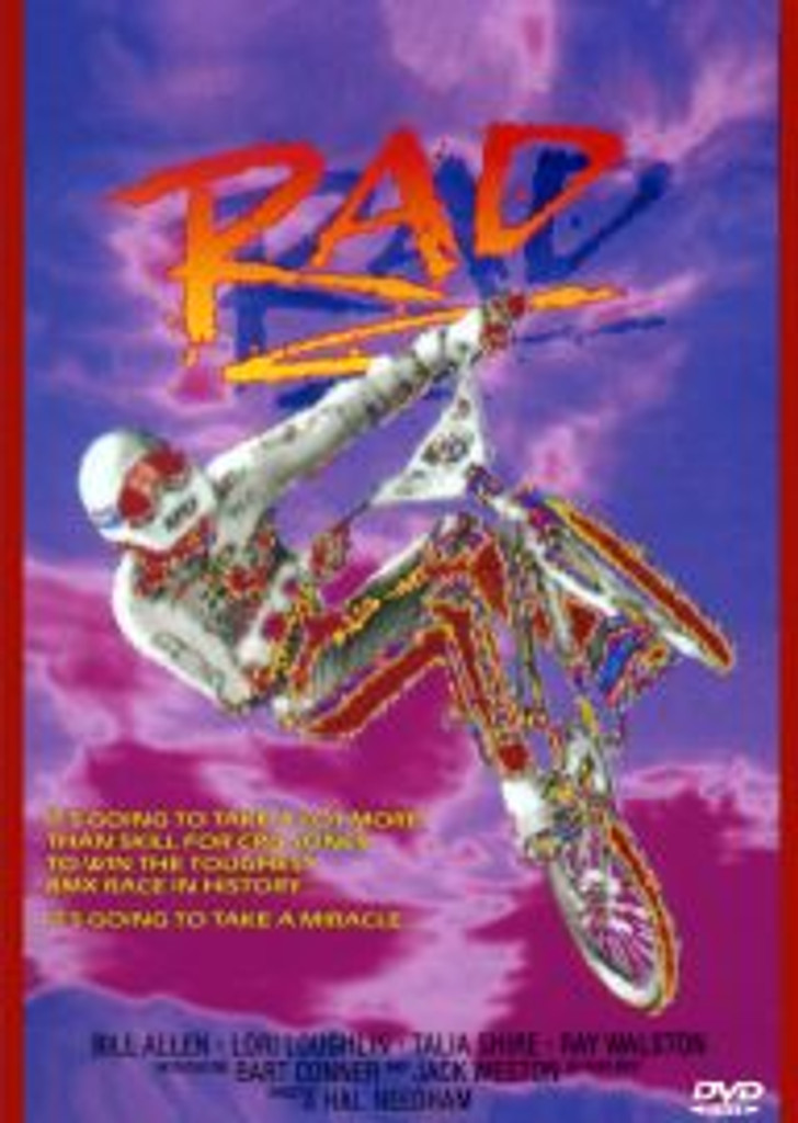 Rad BMX Movie Digital Remastered Widescreen Version with Free Shipping