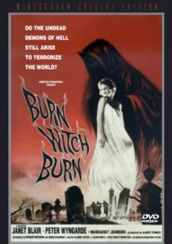 Burn, Witch, Burn Widescreen Dvd