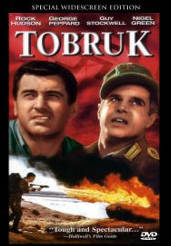 Tobruk Rock Hudson George Peppard Widescreen Remastered Dvd
