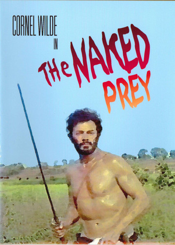 The Naked Prey Cornel Wilde Dvd