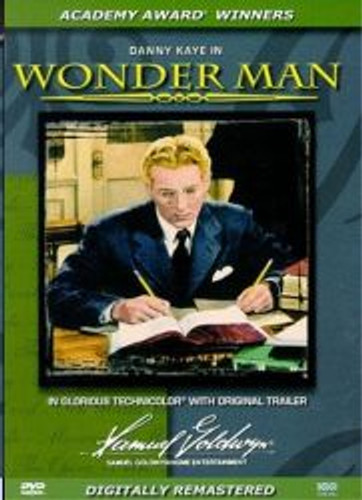 Wonder Man Danny Kaye Dvd
