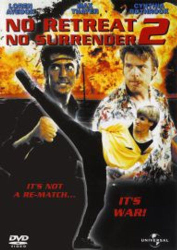 No Surrender No Retreat 2 Cynthia Rothrock Dvd