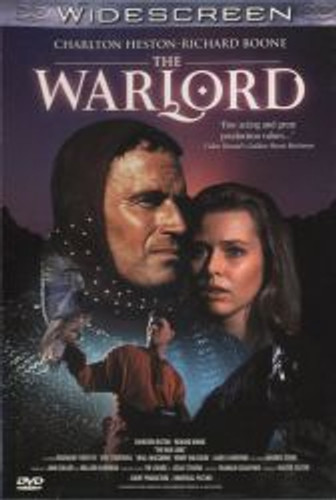 The Warlord Charlton Heston Dvd