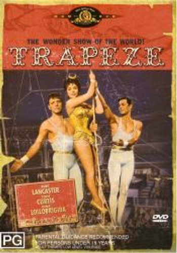 Trapeze Burt Lancaster Tony Curtis Widescreen Edition