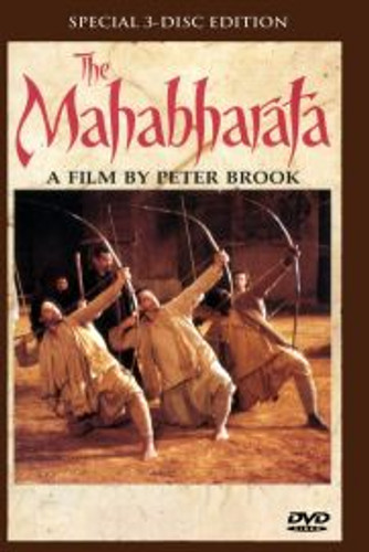 Peter Brook's The Mahabharata Uncut 2 Disc Version Dvd