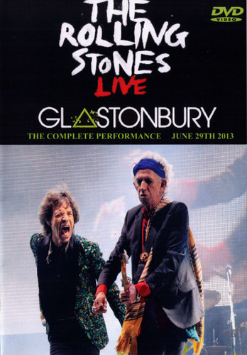 Rolling Stones,The  Live at Glastonbury 2013