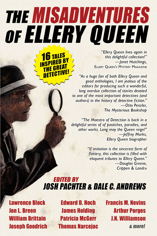 The Misadventures of Ellery Queen, edited by Josh Pachter and Dale C. Andrews (Hardcover in Jacket)