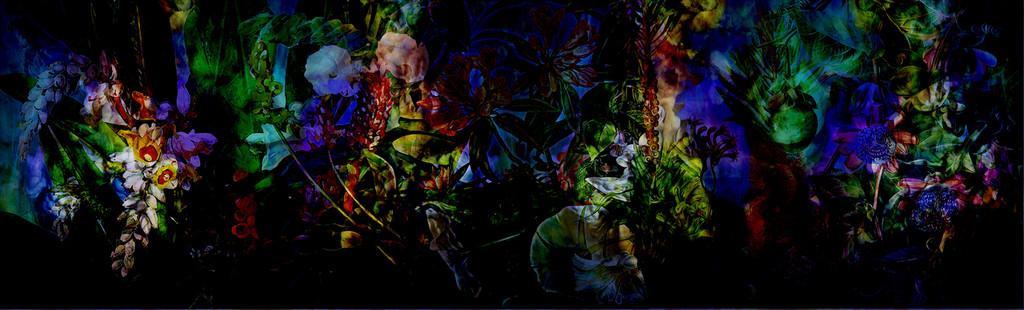 Wallpaper - Flower Power - Luminescent