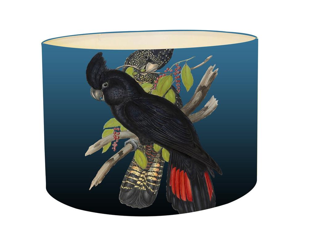 Lampshade - Black Cockatoo