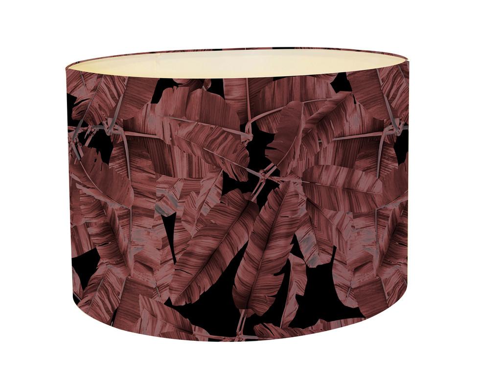 Lampshade - Jungle Noir - Pink