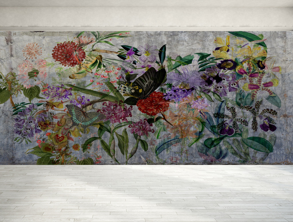 Wallpaper - Silver Walled Garden