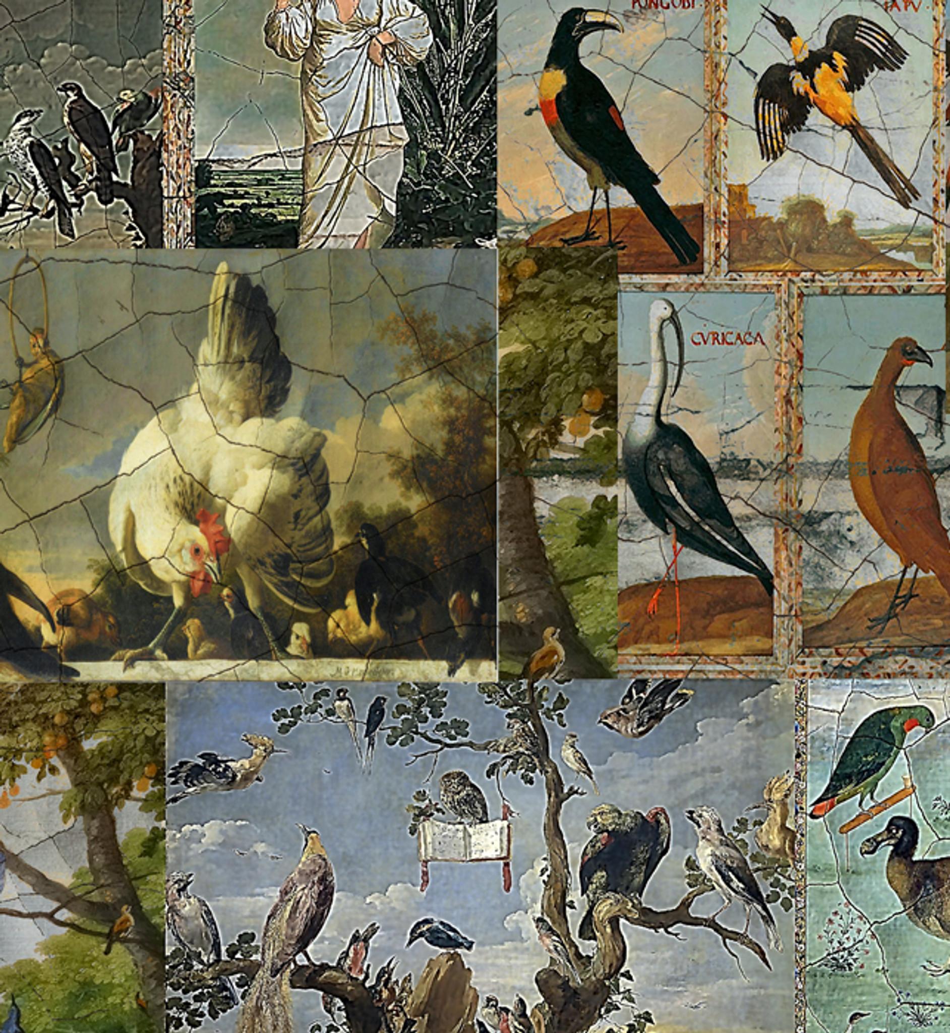 Fabric - The Birds