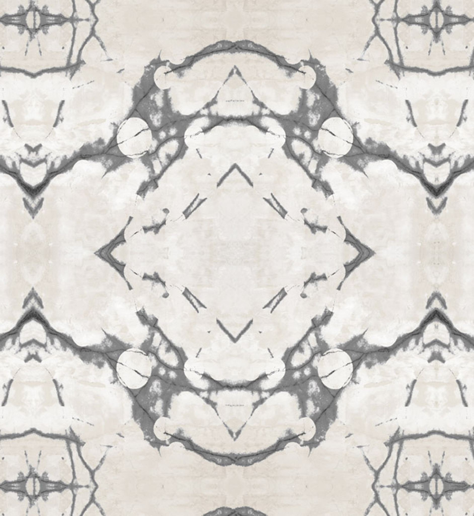 Fabric -  Marbled Moons Star Gazing