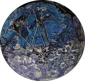 Art Decals - Still Life Dark Blue