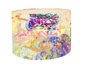 Lampshade - Graffiti Yum Yum