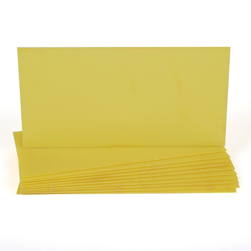 Plastic Deep Foundation - Yellow 10pk