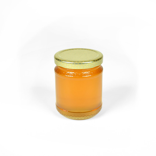Embossed Honey Jar - Medium