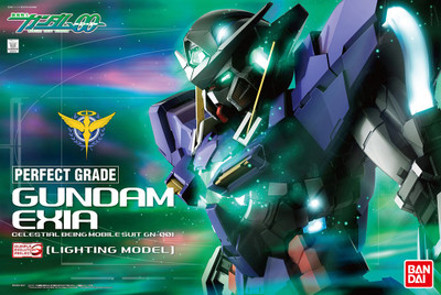 Gundam Exia 1/60 Scale Perfect Grade (Lighting Version)