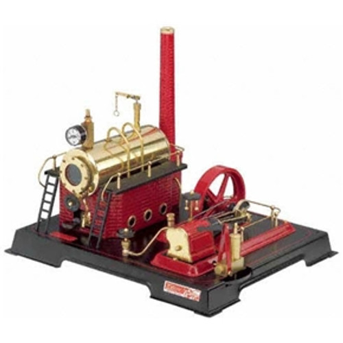 Wilesco D21 Model Toy Steam Engine - YesteryearToys.com