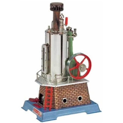 Wilesco D455 Vertical Steam Engine - YesteryearToys.com