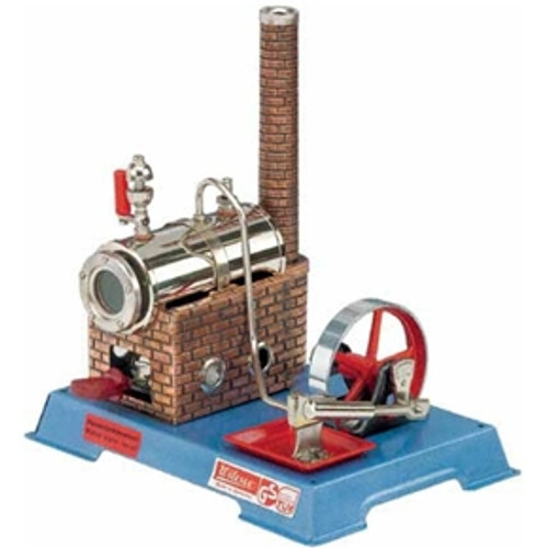 Small Wilesco D6 Stationary Model Toy Steam Engine - YesteryearToys.com